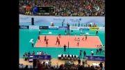 خلاصه ست سوم والیبال ایران و آلمان (بازی رفت - لیگ جهانی)