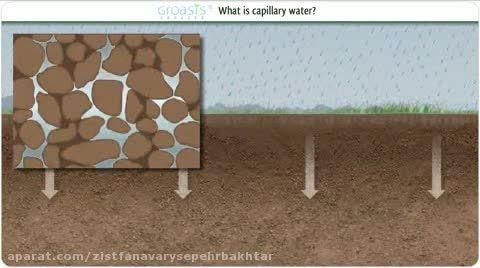 آب مویرگی (Capillary) و نقش آن در بیابان زدائی