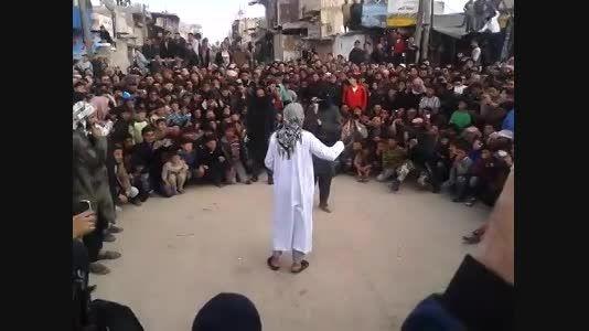 مجازات وحشیانه  توسط داعش