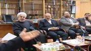 نشست صمیمی ضرغامی با نامزدهای انتخابات ریاست جمهوری