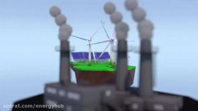 ویدئوگرافیک وضعیت انرژی های تجدیدپذیر تا سال ۲۰۱۶