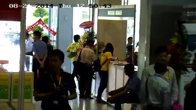 نمونه تصویر دوربین IP اسپیددام هایک ویژن DS-2DF7286-A