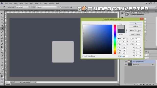 ویدئو آموزشی طراحی لوگو در فتوشاپ