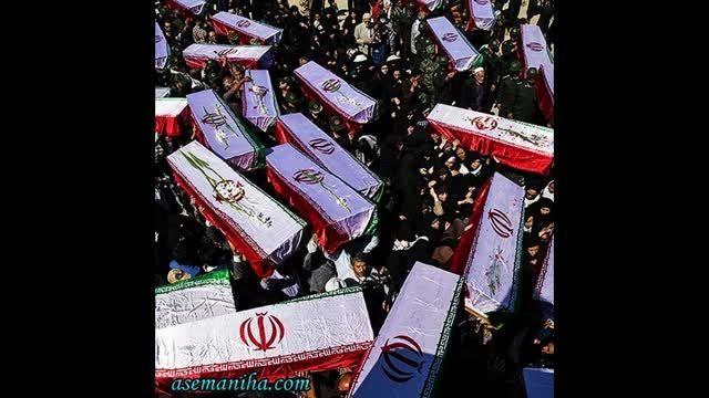تصاویر ورود شهدای تازه تفحص شده