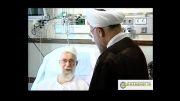 عیادت رئیس جمهور از رهبر انقلاب برای دومین بار