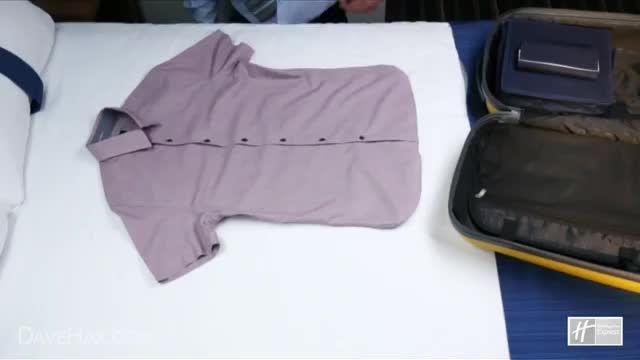 چگونه لباس ها را در چمدان برای مسافرت بچینیم