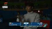 مسابقات آسیایی (شمشیر زنی) - مدال نقره به ایران رسید