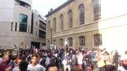 فریاد «فلسطین را آزاد کنید» مردم انگلیس