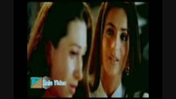 حرف زدن کرینا کاپور با آمیشا پاتل در فیلم میری جیون سات