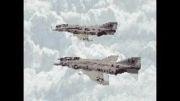 انیمیشن رفتن هواپیما طبیعی در طبعیت