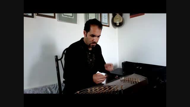 """قطعه """"ندای شهید"""" اثر محمد خالقی- اجرا:هادی انصاری"""