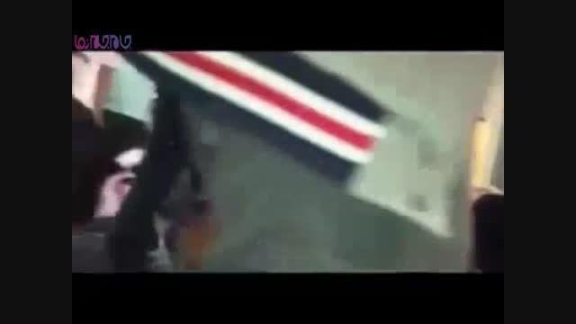 زن سعودی وسط بازار از مرد غریبه سیلی خورد+فیلم+کلیپ