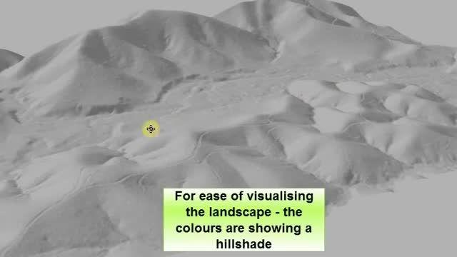 نمایش پوشش گیاهی با استفاده از لیدار (Lidar)