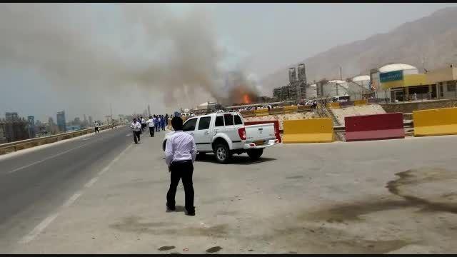 آتش سوزی در فاز های پارس جنوبی