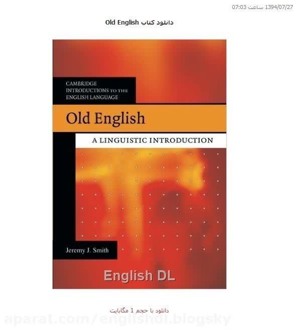 دانلود کتاب Old English