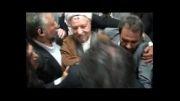 ورود آیت الله هاشمی رفسنجانی به ستاد انتخابات کشور
