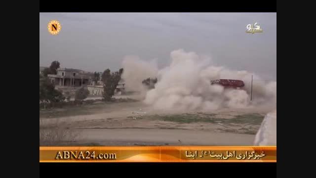 ویران کردن منازل مردم عراق به دست داعش