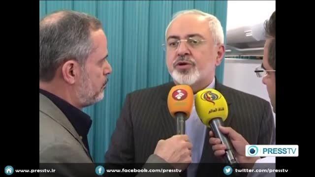 صحبت های دکتر ظریف درباره مذاکرات هسته ای