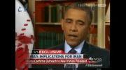 60ثانیه:اوباما و روحانی نامه نگاری می کنند، BBC موش می دواند