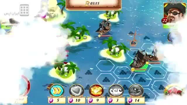 جنگ دزدان دریایی - خلیج دزدان - Pirate Battles: Corsairs bay