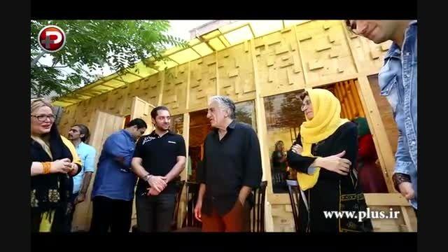 بهرام رادان،بهاره رهنما در جشن تولد ۶۴سالگی رضا کیانیان