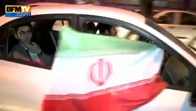 شادی تهرانی ها پس از بیانیه هسته ای