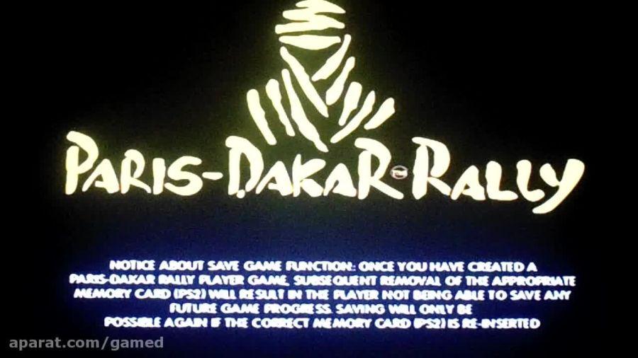 PARIS DAKAR RALLY PS2 GAMEPLAY