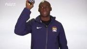 کدام بازیکن منچستر سیتی می تواند مکعب روبیک را حل کند؟