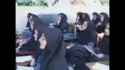 سخنرانی جالب در مدرسه دخترانه