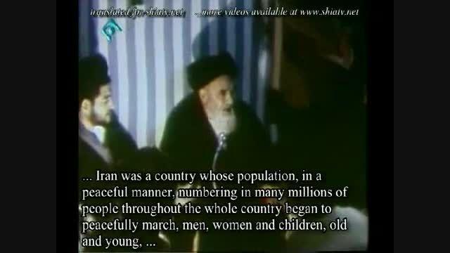نظر امام خمینی (ره) درباره عدم مقبولیت شاه و برکناری وی