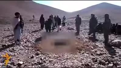 سنگسار یک زن در افغانستان
