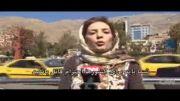تریبون ازاد شبکه سی ان ان در میدان تجریش تهران