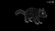 سیستم تولید مو و پوست حیوانات در نرم افزار cinema 4d