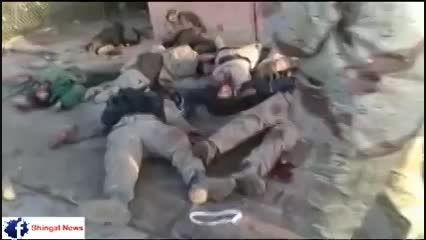 گورستان جدید داعش توسط پیشمرگها -عراق -سوریه