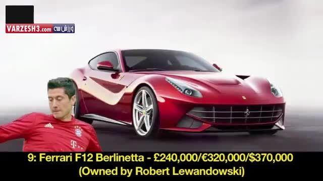 10 خودرو گران قیمت خریداری شده توسط بازیکنان فوتبال