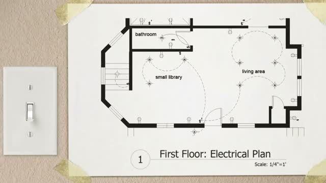 آموزش طراحی نقشه برق کشی در اتوکد