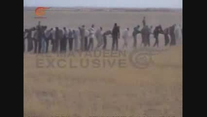 اسارت یک جای صدها داعشی به دست حزب الله عراق در الانبار