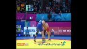کشتی: پیروزی یزدانی در نیمه نهایی مقابل نماینده کره