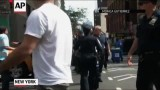 مهمانپرست هدف حمله گروهی از منافقین در نیویورک قرار گرفت(کامل)