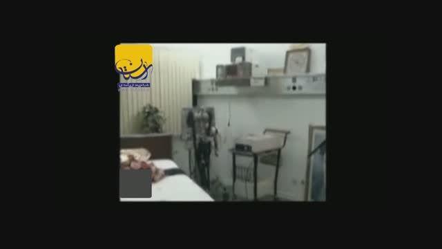 امام خمینی (س) در بستر بیماری