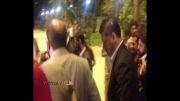 حضور اکبر عبدی و علی دایی در مراسم سفیران صلح