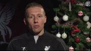 ویدئو تبریک کریسمس راجرز و بازیکنان لیورپول