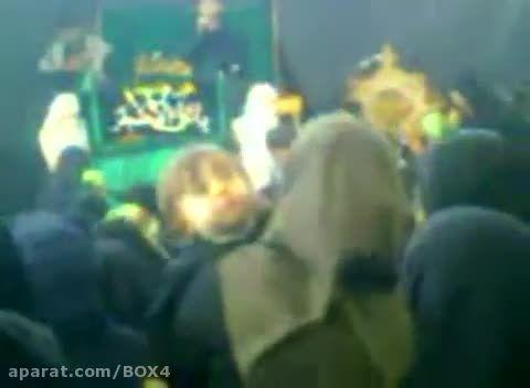 مجـــروح شــدن طفل شیرخواره وسط مراسم علی اصغر(ع)