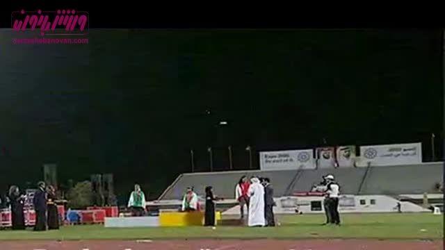 قهرمانی و نایب قهرمانی ایران در پرش سه گام