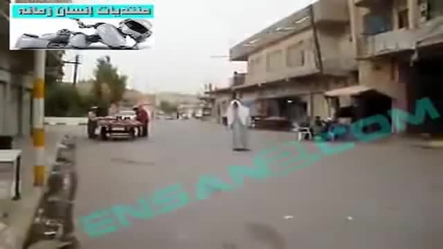 انتحاری احمق داعشی.