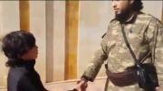 ویدیو؛ بیعت کودک خردسال با خلیفۀ داعش