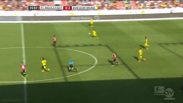 نیمه دوم بازی : اینگول اشتاد 0 - 4 دورتموند (بوندسلیگا)
