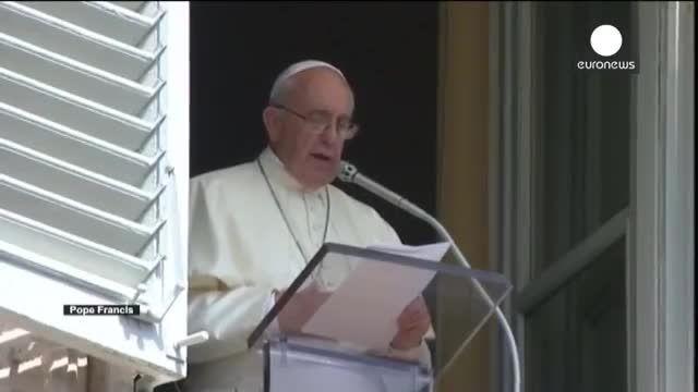 پاپ فرانچسکو از کلیساها خواست به پناهجو ها اسکان دهند