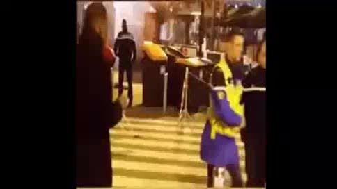 لحظات اولیه پس از انفجارهای پاریس