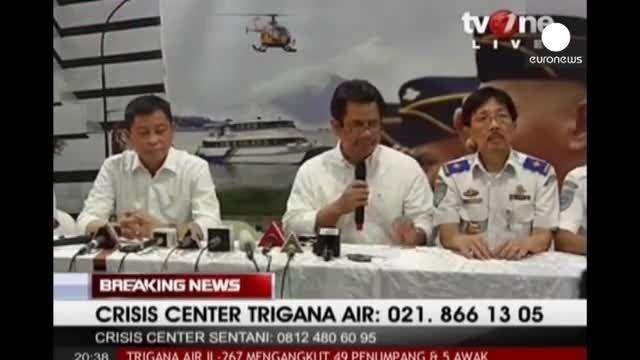سقوط هواپیمای اندونزیایی با 54 مسافر